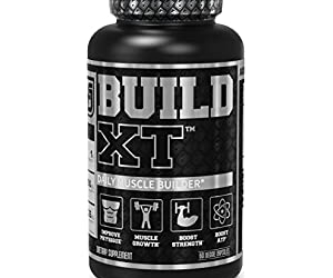 Get 21% Off Build-XT Daily Muscle Building Supplement At Amazon