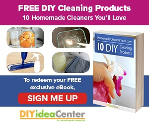 """Free """"Homemade Cleaners You'll Love: 10 DIY Cleaning Products"""" eBook"""