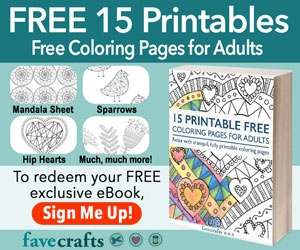 Free 15 Printable Free Coloring Pages for Adults eBook