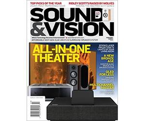 Free Sound & Vision Magazine 1-Year Subscription