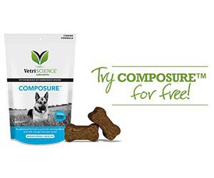 Free VetriScience Composure Dog Chews Sample