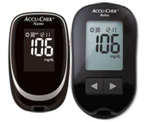 Free Accu-Chek Nano Or Accu-Chek Aviva Meter