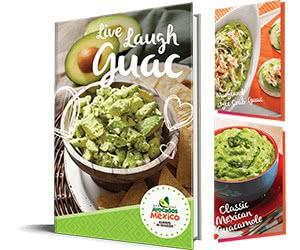 Free Guacamole Recipe e-Book