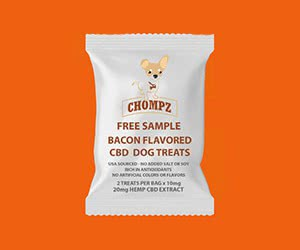 Free Chompz Dog Treats Sample