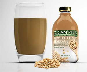 Free Q-CAN Plus Soy Beverage Samples