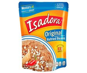 Free Isadora Original Refried Beans Digitry Samples